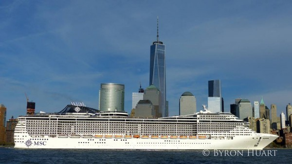 MSC Divina in New York- photo Byron Huart